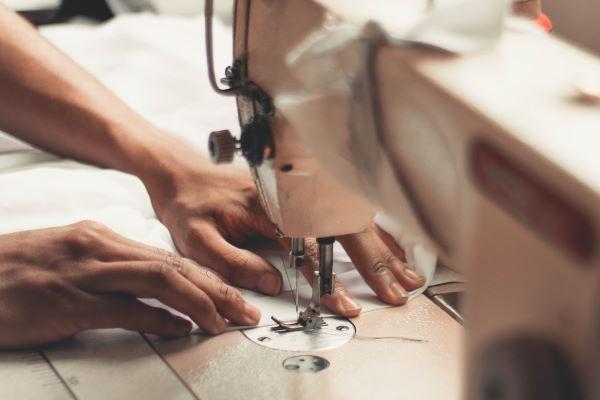 sewing machine dress